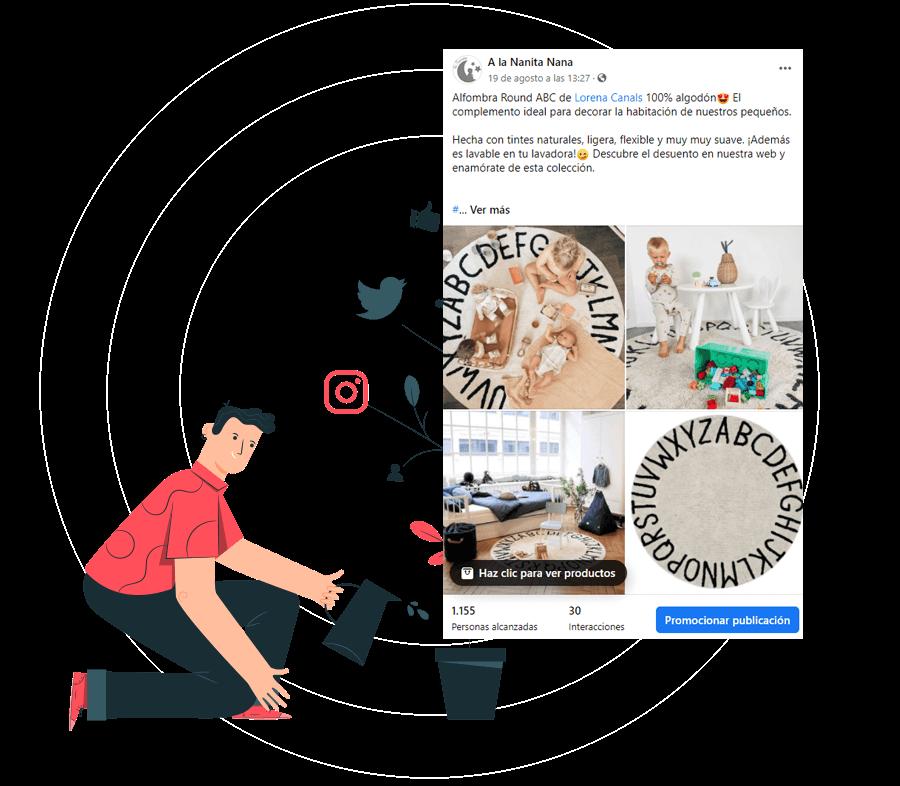 exito social media