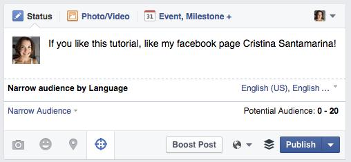 Facebook Multilingüe