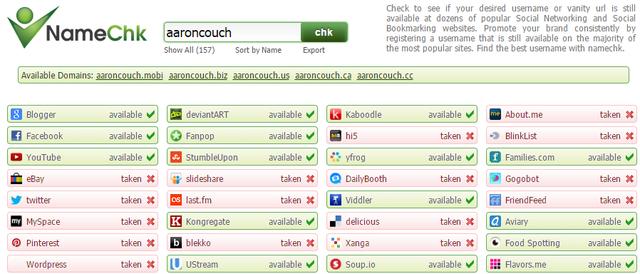 11-NameChk marca personal