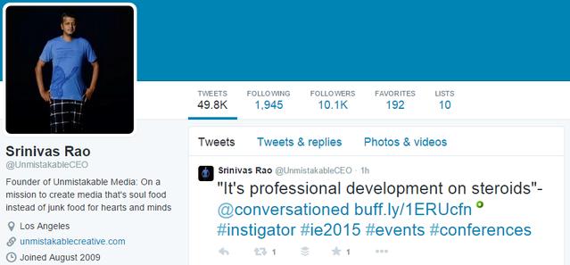 13-Srinivas-Rao-Twitter marca personal