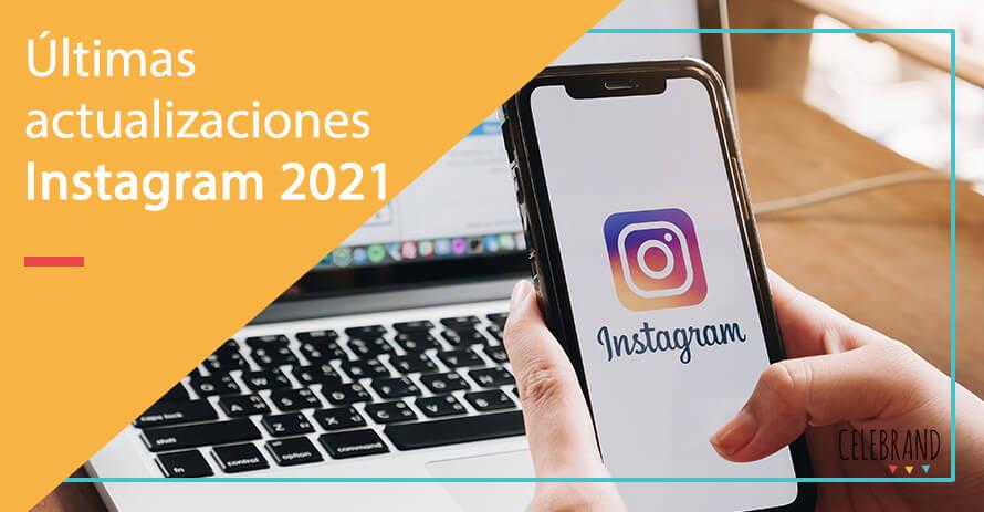 alctualizaciones de instagram